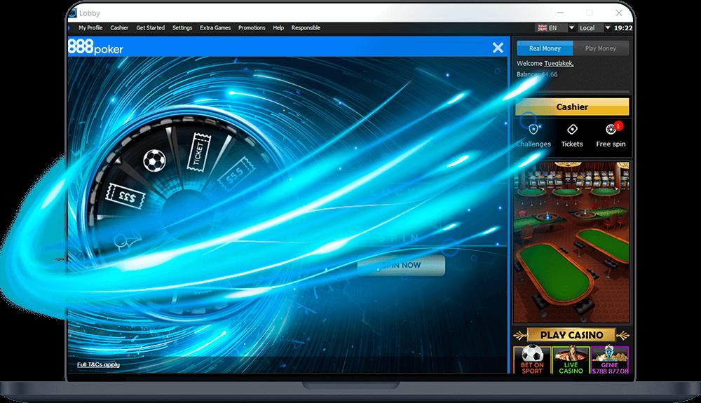 Скачать клиент 888poker на пк